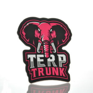 Terp Trunk Mascot sticker Pink